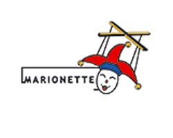 Marionette wooden toys