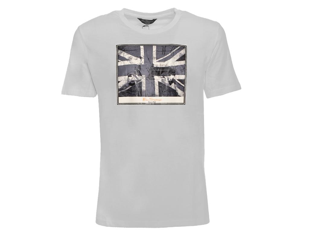 d0cc6a254e58 Ben Sherman Ανδρικό T-Shirt σε Γκρι Χρώμα, Short Sleeve Polo 52211G-009 | Ανδρικές  Μπλούζες - crazymarket.gr