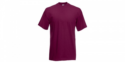 "Ανδρικό T-Shirt, ""Valueweight Τ"", Burgundy No 41, Fruit of the Loom 10000003"