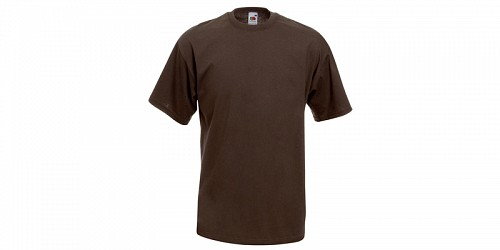 "Ανδρικό T-Shirt, ""Valueweight Τ"", Chocolate No CQ, Fruit of the Loom 10000003"