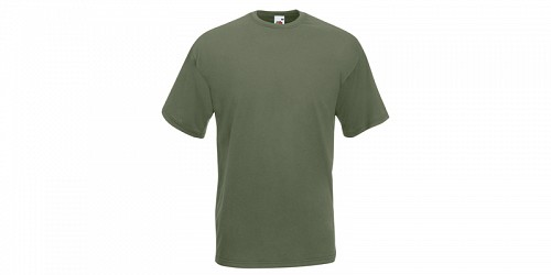 "Fruit of the Loom Ανδρικό T-Shirt, ""Valueweight Τ"", Classic Olive No 59"