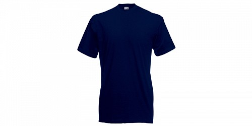 "Ανδρικό T-Shirt, ""Valueweight Τ"", Deep Navy No AZ, Fruit of the Loom 10000003"