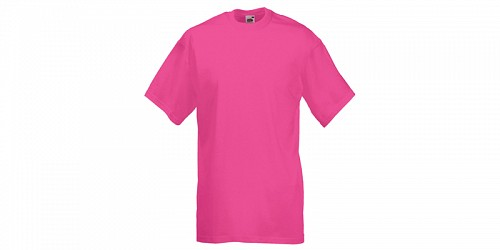"Ανδρικό T-Shirt, ""Valueweight Τ"", Fuchsia No 57, Fruit of the Loom 10000003"