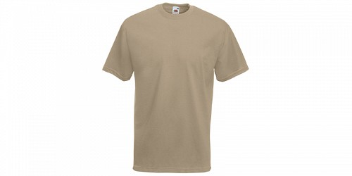"Ανδρικό T-Shirt, ""Valueweight Τ"", Khaki No 3M, Fruit of the Loom 10000003"