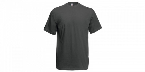 "Fruit of the Loom Ανδρικό T-Shirt, ""Valueweight Τ"", Light Graphite No GL"