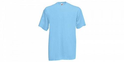 "Ανδρικό T-Shirt, ""Valueweight Τ"", Sky Blue No YT, Fruit of the Loom 10000003"