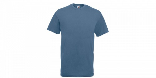 "Ανδρικό T-Shirt, ""Valueweight Τ"", Steel Blue No 80, Fruit of the Loom 10000003"