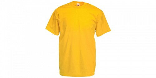 "Ανδρικό T-Shirt, ""Valueweight Τ"", Sunflower No 34, Fruit of the Loom 10000003"