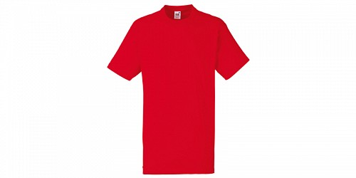 "Ανδρικό T-Shirt, ""Valueweight Τ"", Red No 40, Fruit of the Loom 10000003"