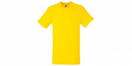 "Ανδρικό T-Shirt, ""Valueweight Τ"", Yellow No K2, Fruit of the Loom 10000003"