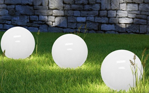 Solar light ball dia30cm 4L, Outdoor Lights 98955