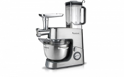 TurboTronic kithen Machine stand mixer with Meat Grinder and Blender Function 1500 Watt with stainless steel bowl 6.5lt, TT-010