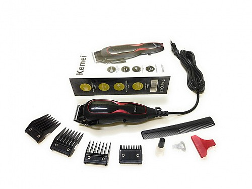 Dunlop Ασύρματη Επαναφορτιζόμενη Κουρευτική Ξυριστική μηχανή για μαλλιά και γένια  5 σε 1 με Ρυθμιζόμενο μήκος κοπής c61dd8c451b