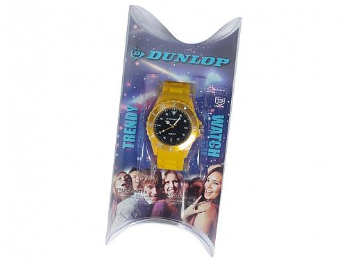 Dunlop Unisex Αναλογικό Ρολόι Χειρός με Λευκό Καντράν c1a7e33599c