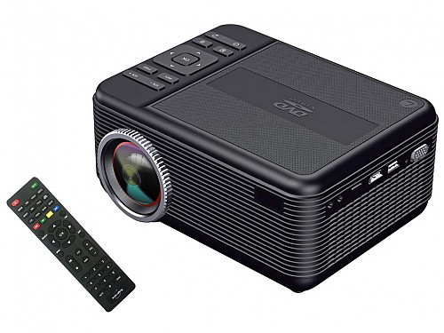 Projector 1920x1080, DVD Player, 1LED 4''LCD, 2XHDMI, 3000:1