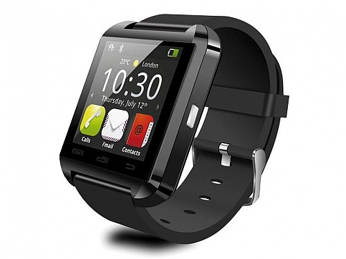 "Smartwatch Smart Watch with 1.44 ""touch screen and Bluetooth compatible Android, in black"