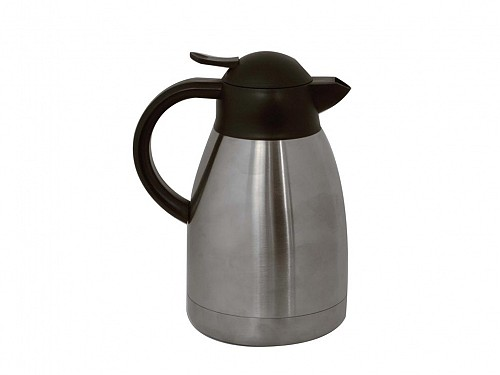 2Lt Heated Capacity Cable from Inox Stainless Steel for Hot and Cold Drinks, Insulated Pitcher